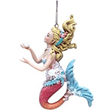 december-diamonds-hanging-christmas-ornament Mermaid Christmas Ornaments