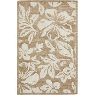 duxbury-beige-indooroutdoor-area-rug Coastal Rugs and Coastal Area Rugs