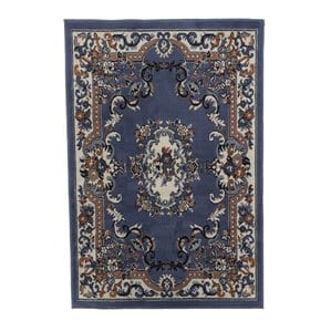 lilly-country-blue-area-rug Tropical Rugs and Tropical Area Rugs