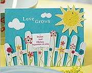 love-grows-picket-fence-wedding-favors-seeds Plantable Wedding Favors and Seed Packet Wedding Favors