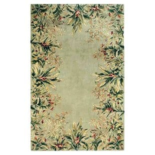 marion-sage-tropical-border-area-rug Tropical Rugs and Tropical Area Rugs