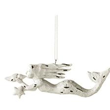 midwest-cbk-mermaid-conch-shell-ornament 100+ Mermaid Christmas Ornaments