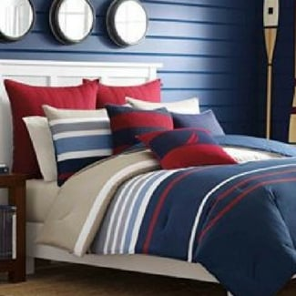 nautical-bedding Beach Home Decor