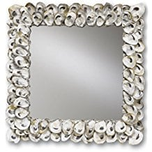 oyster-shell-mirror Seashell Mirrors and Capiz Mirrors