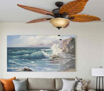 palm leaf ceiling fans