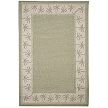 palm-tree-frame-area-rug Tropical Rugs and Tropical Area Rugs