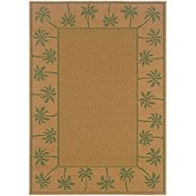 palm-tree-indoor-outdoor-area-rug-4x6 Tropical Rugs and Tropical Area Rugs