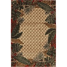 rain-forest-tropical-area-rug- Tropical Rugs and Tropical Area Rugs