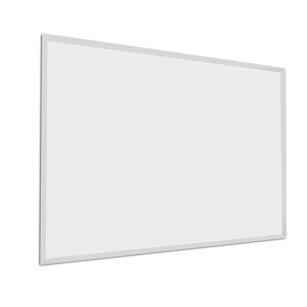rectangle-white-mirror-diy Seashell Mirrors and Capiz Mirrors