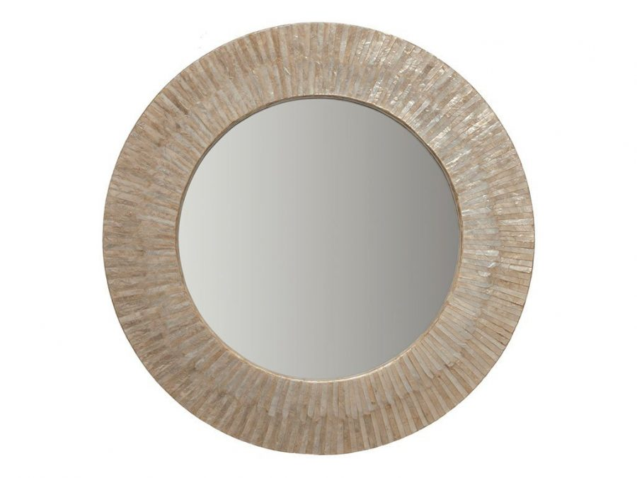round-capiz-seashell-mirror Seashell Mirrors and Capiz Mirrors