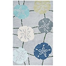 sand-dollar-bay-collection-5-inches-by-inches-rug Tropical Rugs and Tropical Area Rugs
