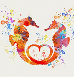 Seahorse Art & Seahorse Wall Decorations