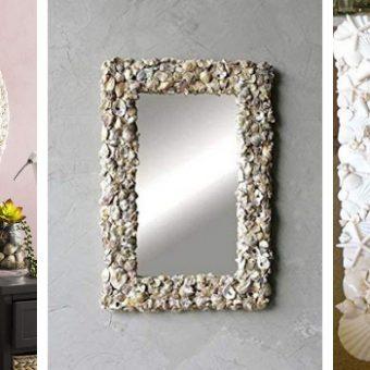 seashell mirrors