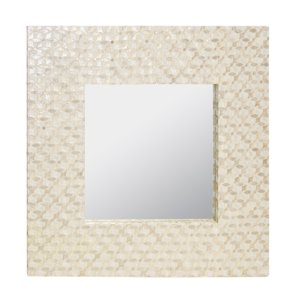 square-capiz-shell-accent-mirror Seashell Mirrors and Capiz Mirrors