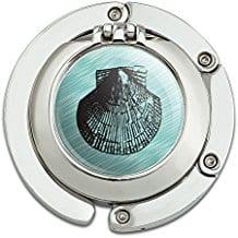 teal-seashell-compact-mirror Seashell Mirrors and Capiz Mirrors