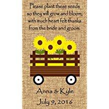 wagon-design-wedding-favor-wildflower-seeds Plantable Wedding Favors and Seed Packet Wedding Favors