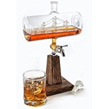whiskey-bourbon-ship-in-a-bottle-decanter Ship In A Bottle Kits and Decor