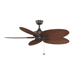 windepointe-5-blade-ceiling-fan Best Palm Leaf Ceiling Fans