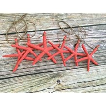 5ft-Caribbean-Coral-Starfish-Garland Beachy Starfish and Seashell Garlands