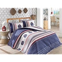 Arma-100-Cotton-Multifunctional-Four-Season-Nautical-Bedding-Set 100+ Nautical Quilts and Beach Quilts