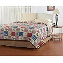Ashley-Cooper-Nautical-Patchwork-Quilt Nautical Quilts and Beach Quilts