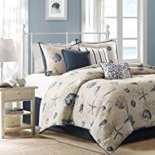 Bayside-Comforter-Set Seashell Bedding and Comforter Sets