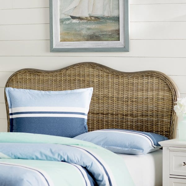 BendelPanelHeadboard Beach Bedroom Furniture and Coastal Bedroom Furniture