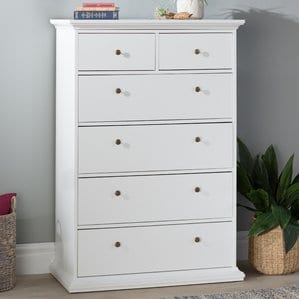 Blythen6DrawerChest Beach Bedroom Furniture and Coastal Bedroom Furniture