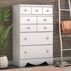 Carrabassett5DrawerChest-1 Beach Bedroom Furniture and Coastal Bedroom Furniture
