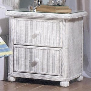 Elana2DrawerNightstand Beach Bedroom Furniture and Coastal Bedroom Furniture