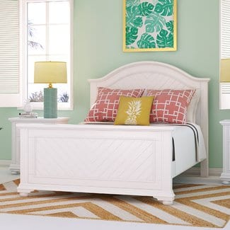 ElsmerePanelBed Beach Bedroom Furniture and Coastal Bedroom Furniture