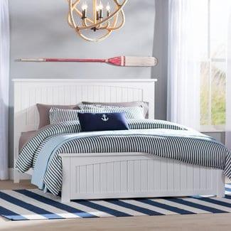 GrahamPanelBed Beach Bedroom Furniture and Coastal Bedroom Furniture