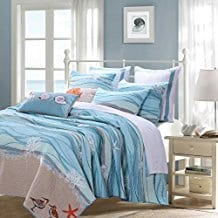 Greenland-Home-5-Piece-Maui-Bonus-Quilt-Set Nautical Quilts and Beach Quilts