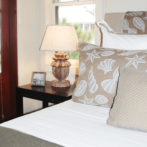 Guest-Bedroom-by-Brian-Watford-Interiors Seashell Bedding and Comforter Sets