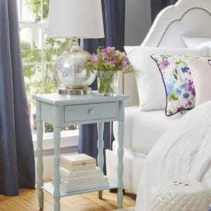 Ike1DrawerNightstand Beach Bedroom Furniture and Coastal Bedroom Furniture