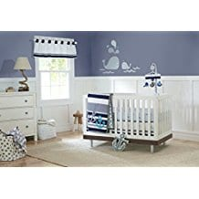 Just-Born-Crib-Bedding-Set-Anchor-Nautical Nautical Crib Bedding and Beach Crib Bedding