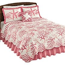 Ocean-Reef-Coral-Reef-Quilt Coral Bedding Sets and Coral Comforters