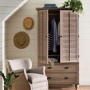 PinellasTV-Armoire Beach Bedroom Furniture and Coastal Bedroom Furniture