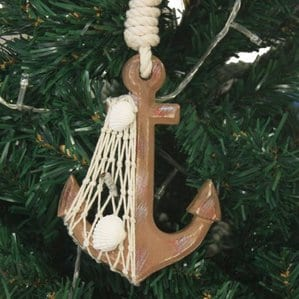 RusticAnchorChristmasOrnament Anchor Christmas Ornaments