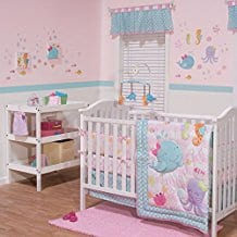 Sea-Sweeties-3-Piece-Baby-Crib-Bedding-Set-by-Belle Nautical Crib Bedding and Beach Crib Bedding