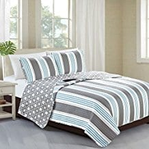 St.-Croix-Collection-3-Piece-Coastal-Beach-Theme-Quilt-Set Nautical Quilts and Beach Quilts