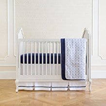 Summer-Infant-4-Piece-Classic-Bedding-Set-with-Adjustable-Crib-Skirt Nautical Crib Bedding and Beach Crib Bedding