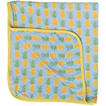 Swaddle-Blanket-Newborn-Baby-Blanket-Boys-and-Girls-pineapple 50+ Pineapple Bedding Sets, Quilts, and Duvet Covers