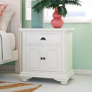 Tarquin1DrawerNightstand Beach Bedroom Furniture and Coastal Bedroom Furniture