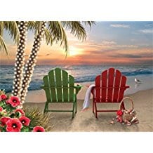 beach-chairs-palm-tree-christmas-cards-18 Beach Christmas Cards and Nautical Christmas Cards
