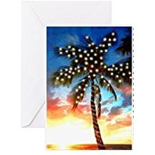 cafepress-christmas-greeting-cards-palm-tree-10 Beach Christmas Cards and Nautical Christmas Cards