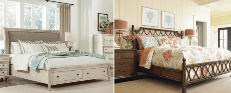 beachfront decor coastal nautical and beach themed decor 12679 | coastal bedroom furniture 800x324