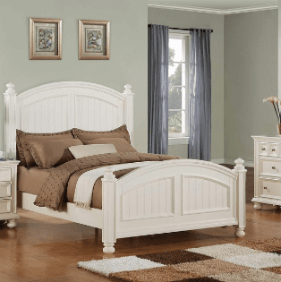 Coastal Furniture Set For Bedroom Bed Dresser Nightstand Beach