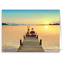 dock-sunset-christmas-cards-18 Beach Christmas Cards and Nautical Christmas Cards