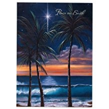 hawaiian-christmas-cards-12 Beach Christmas Cards and Nautical Christmas Cards